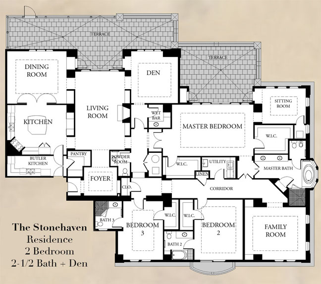Premier Luxury Homes In Atlanta Ga- Floorplans | Aberdeen